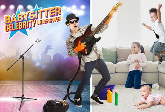 Babysitter Celebrity Undercover