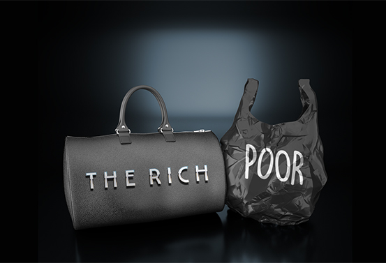 The Rich Poor
